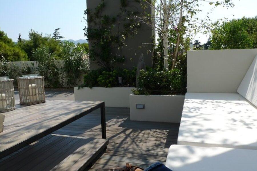 Κατοικία (Deck Ipoko, Γκρι βαφή)